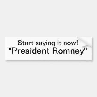Romney Autoaufkleber