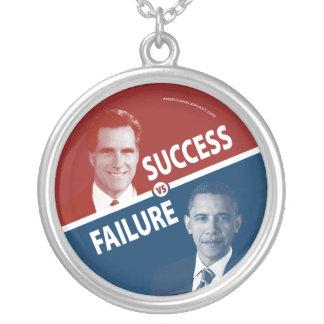 Romney gegen Obama - Erfolg gegen Versilberte Kette