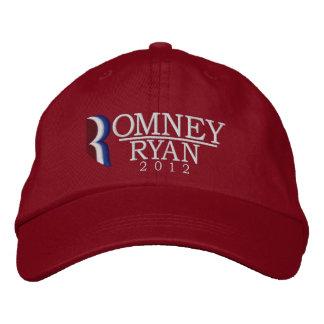 Romney/gestickter Hut Ryans 2012