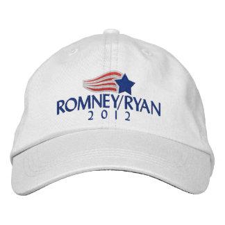 Romney/gestickter Hut Ryans 2012 Licht