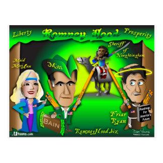 Romney Hauben-Wald Postkarte