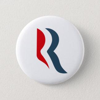 Romney Ikone Runder Button 5,1 Cm