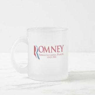 Romney - liberale Politik seit 2006 umfassend Kaffee Tasse
