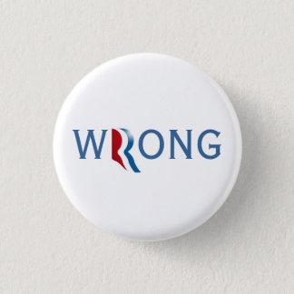 Romney Ryan 2012 - falscher Knopf Runder Button 2,5 Cm