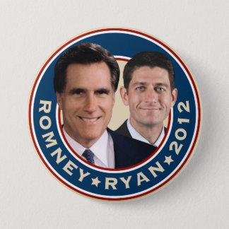 Romney-Ryan 2012 Kampagnen-Knopf Runder Button 7,6 Cm