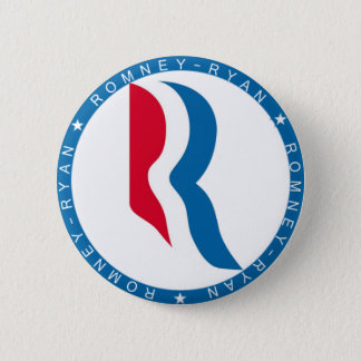 Romney Ryan 2012 Runder Button 5,7 Cm