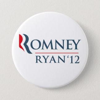 Romney Ryan 2012 Runder Button 7,6 Cm