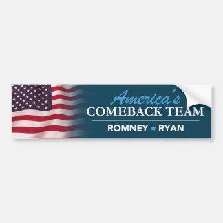 Romney Ryan Amerika Autoaufkleber