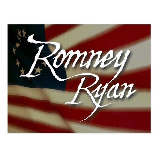 Romney Ryan, keine Entschuldigungen Postkarten