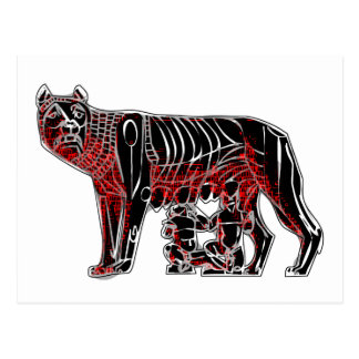 Romulus und Remus Postkarte