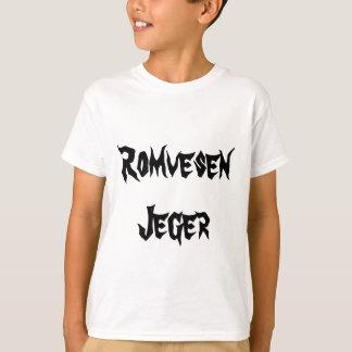 Romvesen Jeger, alien-Jäger auf Norweger T-Shirt