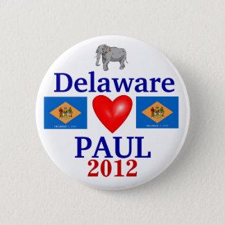 Ron Paul Delaware 2012 Runder Button 5,7 Cm