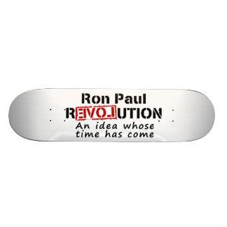 Ron Paul-Revolution eine Idee, deren Zeit gekommen Skateboarddeck