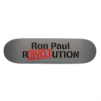 Ron Paul-Revolution fährt fort Individuelle Skatedecks