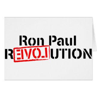 Ron Paul-Revolution fährt fort Karte