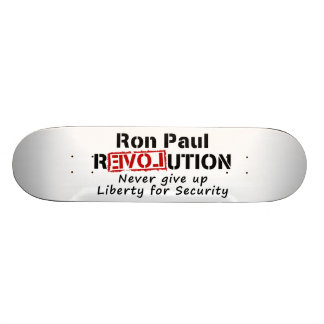 Ron Paul-Revolution geben nie Freiheit auf Individuelles Deck