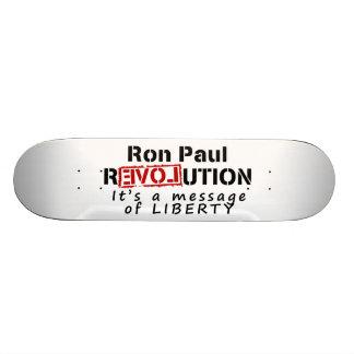 Ron Paul-Revolution ist es eine Mitteilung der Fre Skateboarddecks