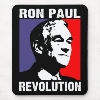 Ron Paul-Revolution Mousepad