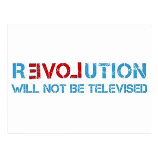 Ron Paul-Revolution Postkarte