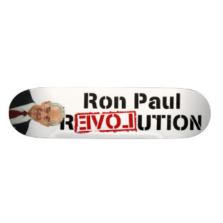 Ron Paul-Revolution Personalisierte Skatedecks