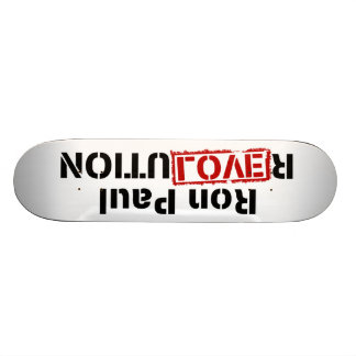 Ron Paul-Revolutions-Skateboard Individuelle Decks