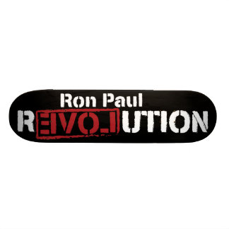 Ron Paul-Revolutions-Skateboard Personalisierte Skateboarddecks