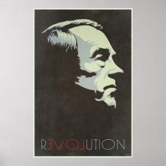 Ron Paul Revolutions-Vintages Plakat