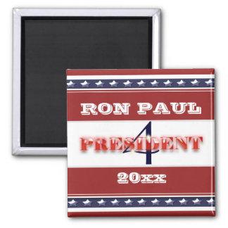 Ron Paulpräsident 2012 FERTIGEN besonders an Quadratischer Magnet