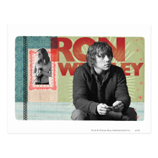Ron Weasley 4 Postkarte