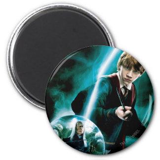 Ron Weasley und Lucius Malfoy Magnets