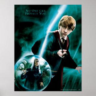 Ron Weasley und Lucius Malfoy Posterdrucke