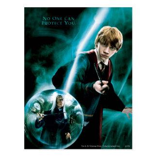 Ron Weasley und Lucius Malfoy Postkarte
