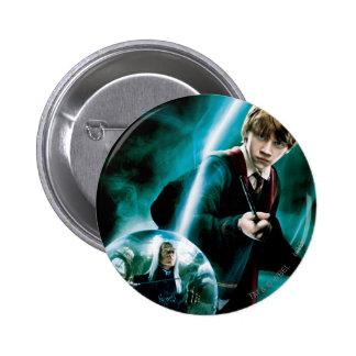 Ron Weasley und Lucius Malfoy Runder Button 5,7 Cm