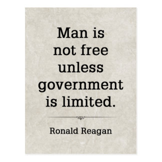 Ronald Reagan #4 Postkarte