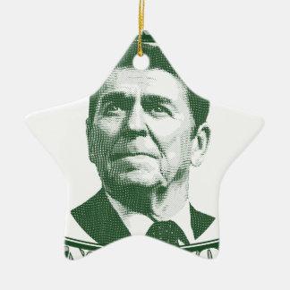 Ronald Reagan eine Nation unter Gott Keramik Ornament