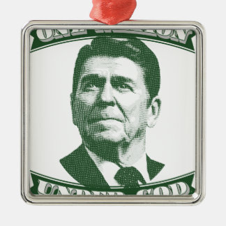 Ronald Reagan eine Nation unter Gott Silbernes Ornament