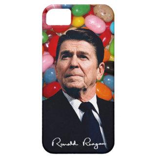 Ronald Reagan mit Geleebonbons u. Sig iPhone 5 Case