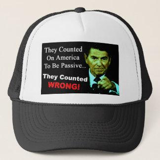 Ronald Reagan: Sie zählten falsch! Truckerkappe