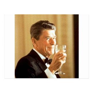 Ronald Reagan-Toast Postkarte