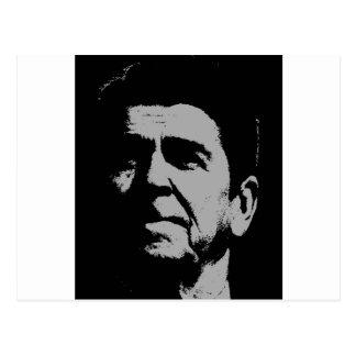 Ronald- ReaganSilhouette Postkarte
