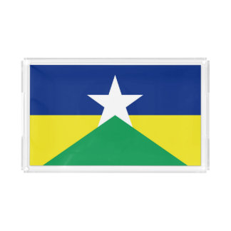 Rondonia Flagge Brasilien-Regionsprovinzsymbol Acryl Tablett