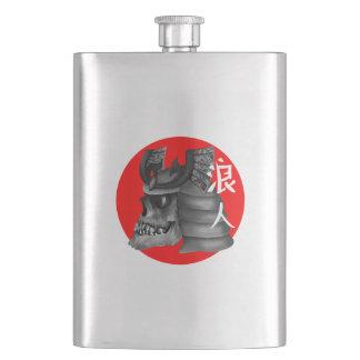 Ronin Samurai-Japaner-Flagge Flachmann