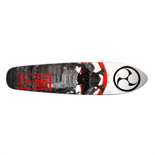 ronin tomoe personalisierte skateboarddecks