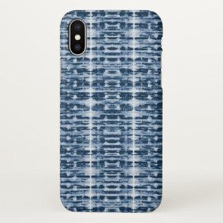 Röntgenstrahl-Aquarell Shibori iPhone X Hülle