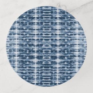 Röntgenstrahl-Aquarell Shibori Streifen Dekoschale