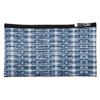 Röntgenstrahl-Aquarell Shibori Streifen-Tasche Kosmetiktasche