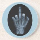 Röntgenstrahl-Finger Getränkeuntersetzer
