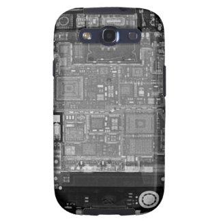 Röntgenstrahl Kastens des Samsung-Galaxie-S Schutzhülle Fürs Galaxy SIII