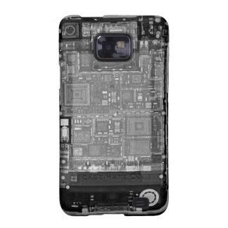 Röntgenstrahl Kastens des Samsung-Galaxie-S Samsung Galaxy S2 Cover