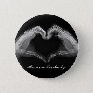 Röntgenstrahl-Kunst Runder Button 5,7 Cm